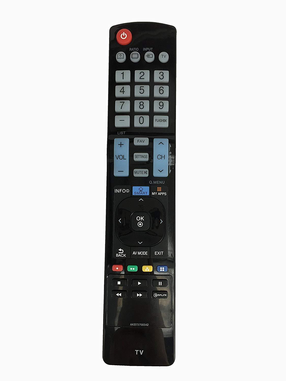 Fine Remote New AKB73756542 Replaced Remote Control for LG TV Smart TV LCD LED TV 32LN5700 32LN570B 42LN5700 42LN5700-UH 50LN5600 50LN5700 60LN5600 60LN5600-UB