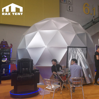 6m dome planetarium projection tent 360 dome projection screen