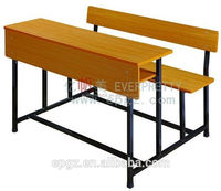 School furniture shelf desk and chair,metal frame office desk and chair set