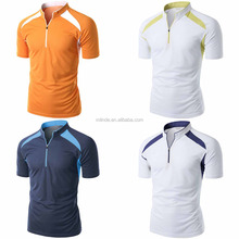 OEM Badminton Sportswear Shirt Short Sleeve Sports and Activity Badminton Jersey Pattern Tshirts For Men Hiking Badminton Tennis