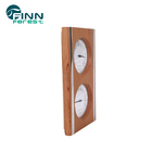 KD-004 Far infrared sauna thermometer hygrometer wooden accessories for sauna room