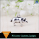 Hot Selling Zinc Alloy Products Silver Plated Mini Pig Shape Pendant Charm for Necklace