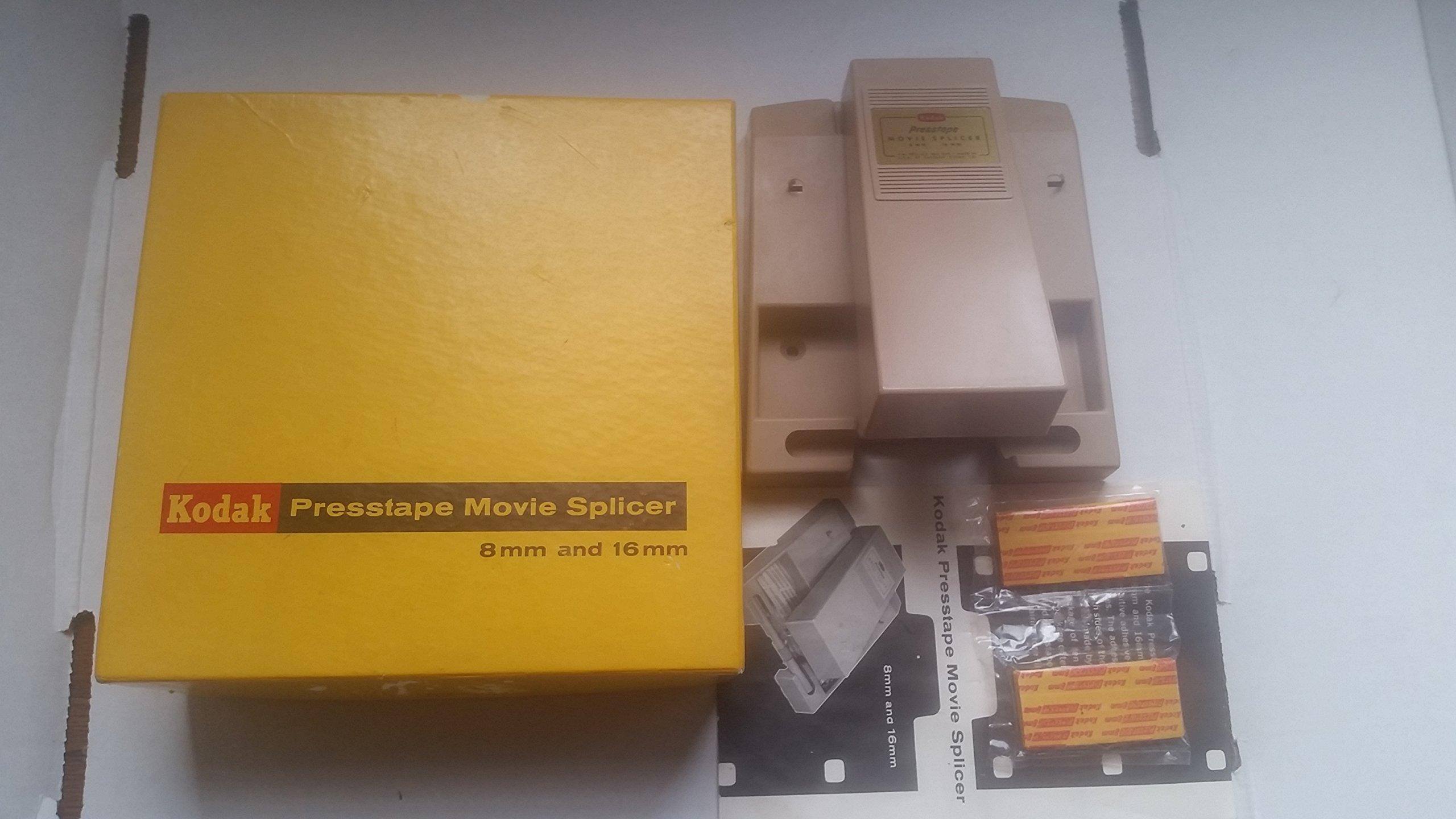 KODAK PRESSTAPE FOR REG. 8 8MM 16MM SUPER 8 MOVIE FILM SPLICER EDITOR