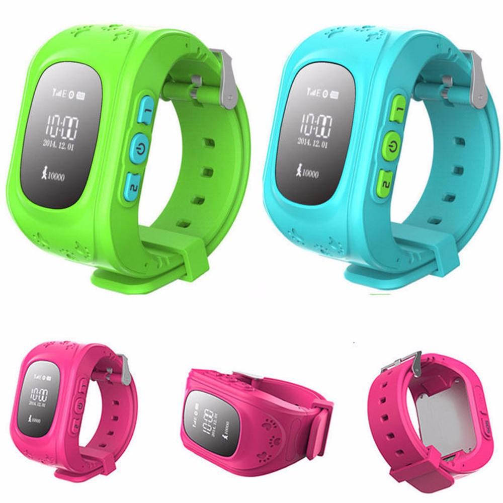 Смартфон часы детей ребенок наручные часы GPS трекер смарт просмотрам анти-потерянный Q50 Smartwatch носимых устройств для iOS Q50