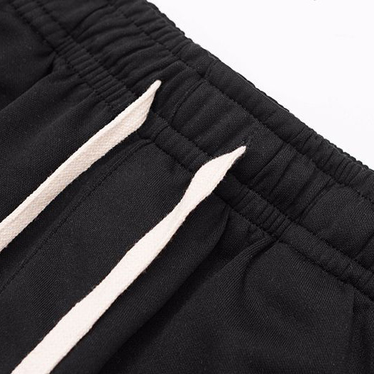 Custom casual color block printed side stripe mens sports running shorts