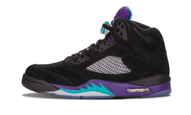 purchase cheap 5e66e 1f443 Get Quotations · Nike Air Jordan 5 Retro Black Grape (136027-007)
