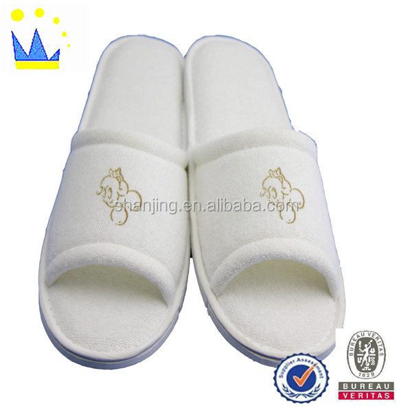 Star hotels super soft non-disposable hotel slippers heavy-bottomed slippers