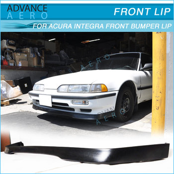 For Acura Integra Tr Style Pu Front Bumper Lip Spoiler Poly - Body kits for acura integra