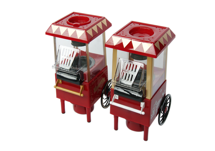 China Popcorn Machine With Cart , Home Used Table Top Popcorn Maker For Sale