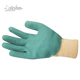 SKYEE great grip anti-oxidation interlock liner with crinkle latex coated slip resistant work glove