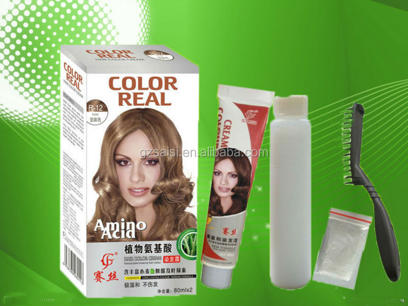 Amino Acid Herbal Healthy Coffee Brown Hair Color Colored ...