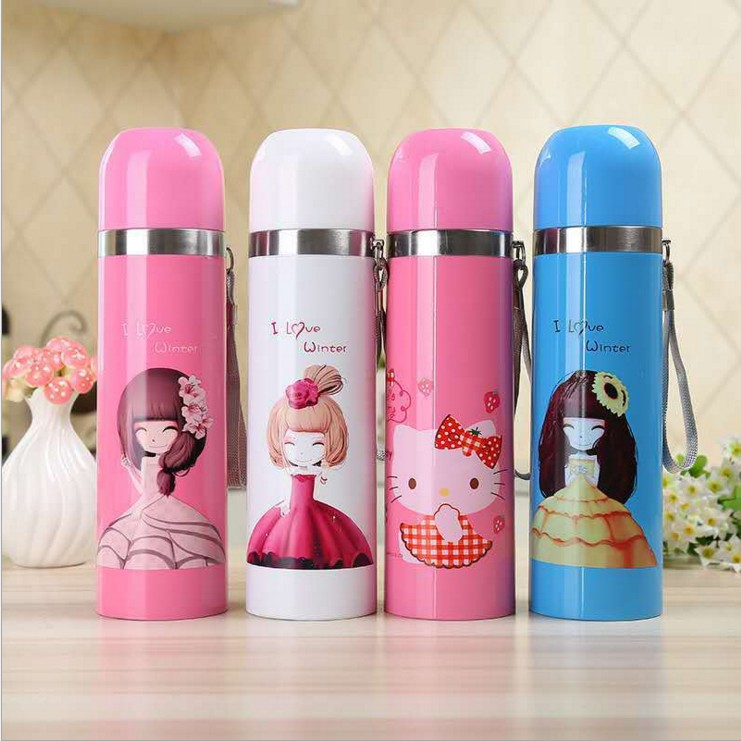 Bouteille d'eau en acier inoxydable sans BPA bouteille Thermos thermique pour enfants