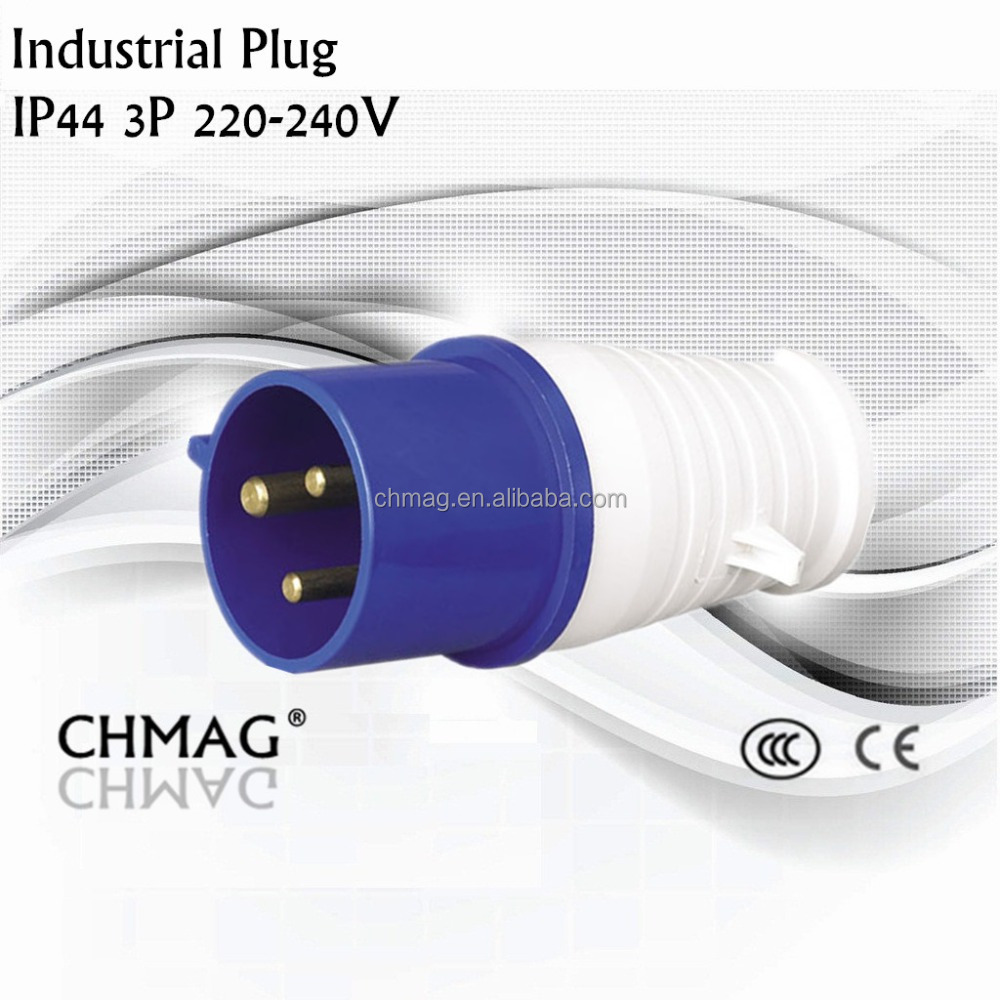 Industrial male plug 013 16A 3P IP44 220V hot selling high quality electrical plugs