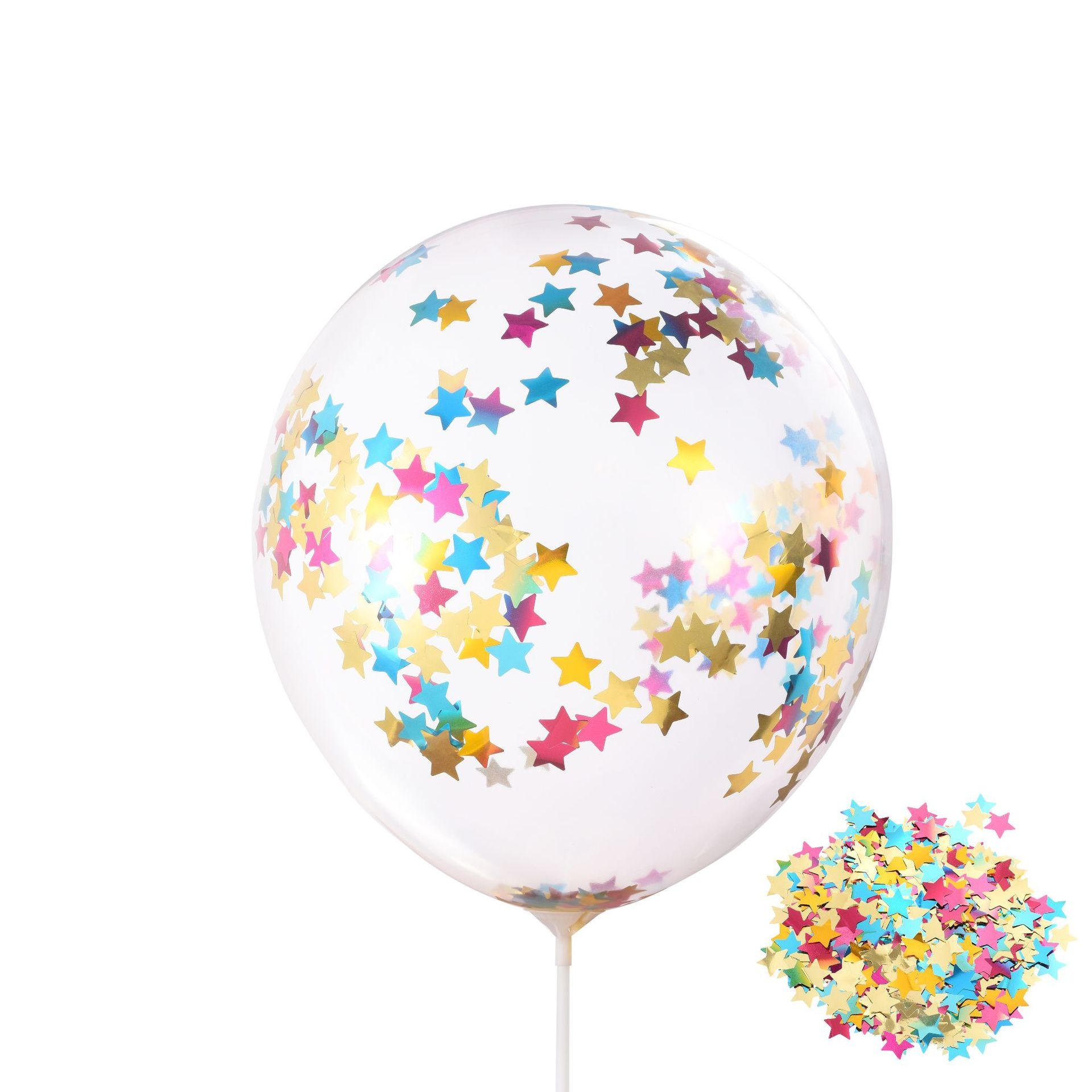 Promotion custom logo happy birthday party globos graduation valentines day inflatable magic transparent clear balloon