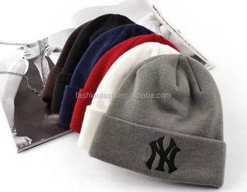 86cab05d409af1 Hot Sale 100% Acrylic Custom Winter Cc Beanie Wholesale Beanie Hat ...