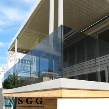 Latest temperato vetro fum sul balcone balaustra with - Quanto costa una jacuzzi da esterno ...