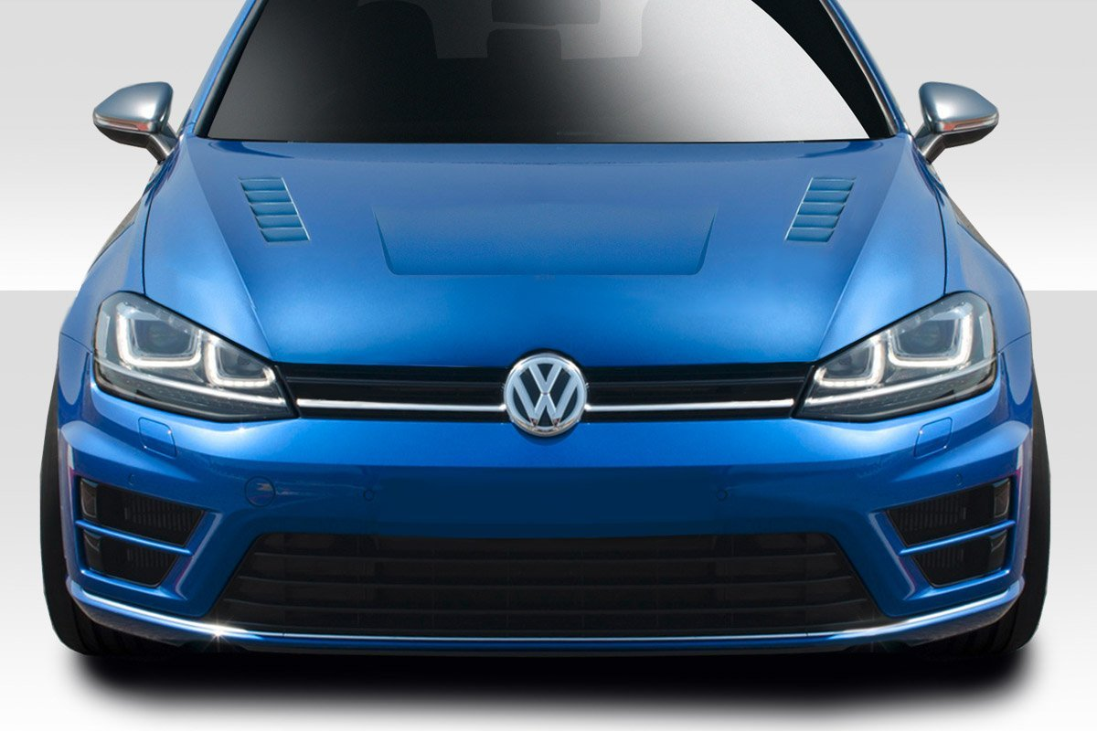 2015-2016 Volkswagen Golf Duraflex Element Hood - 1 Piece