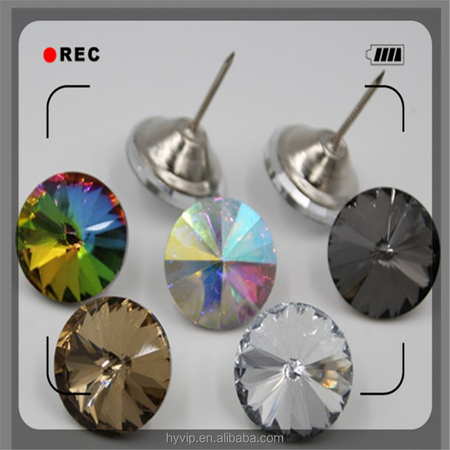14mm 3 Color Satellite Drill Soft Package Crystal Sofa Buckle Rhinestones Buttons Crystal Button Setting Wall Decorative Button Buttons Arts,crafts & Sewing