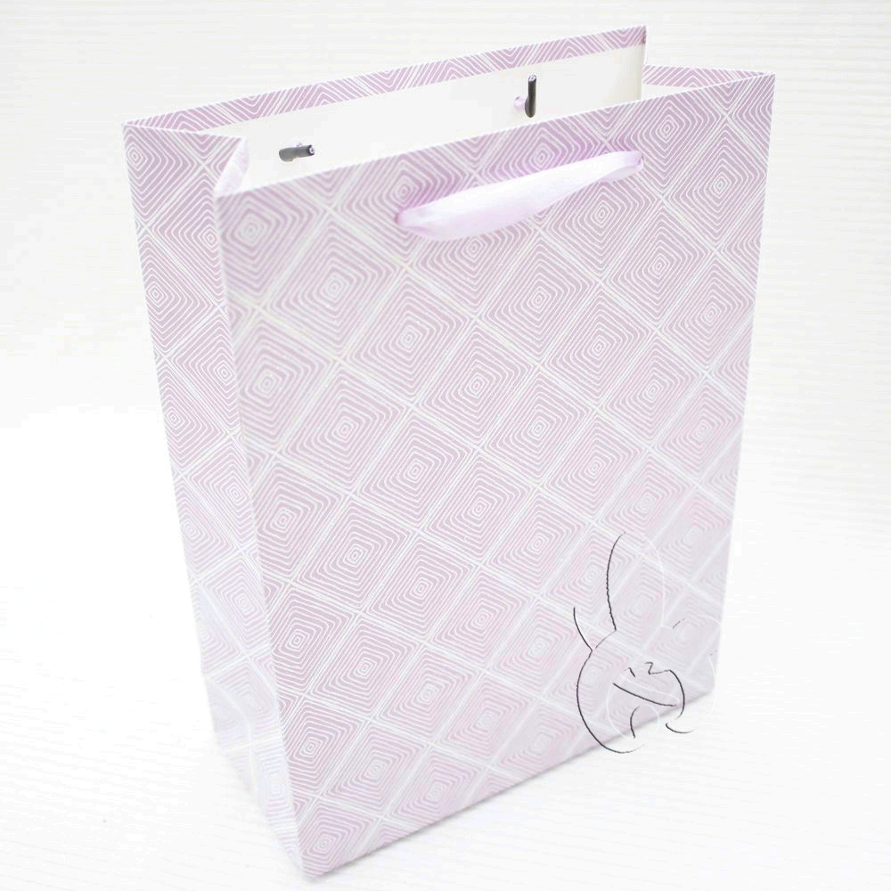 machine made low cost color custom printed luxury retail gift shopping bag made of paper