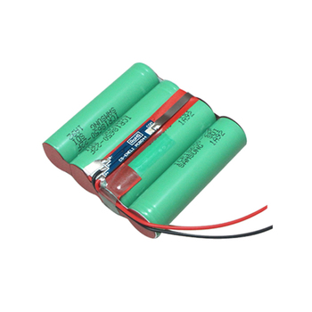 18650 14.8V 2.2AH Lithium-ion battery pack with (AY-4S1P-022)