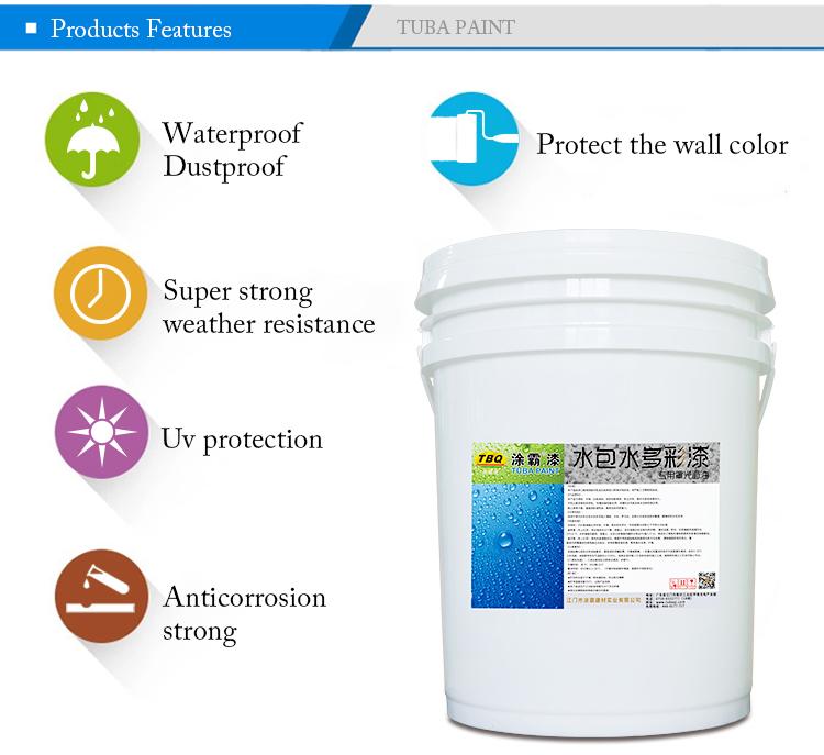 튜바 화강암 페인트 에폭시 수성 바니시 페인트