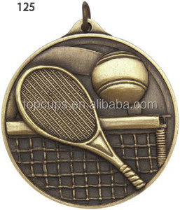 Good quality and cheap zinc Alloy tennis Medal from China
