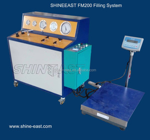 FM200 Pneumatic Filling System with Electrical Scale, Shineeast Brand