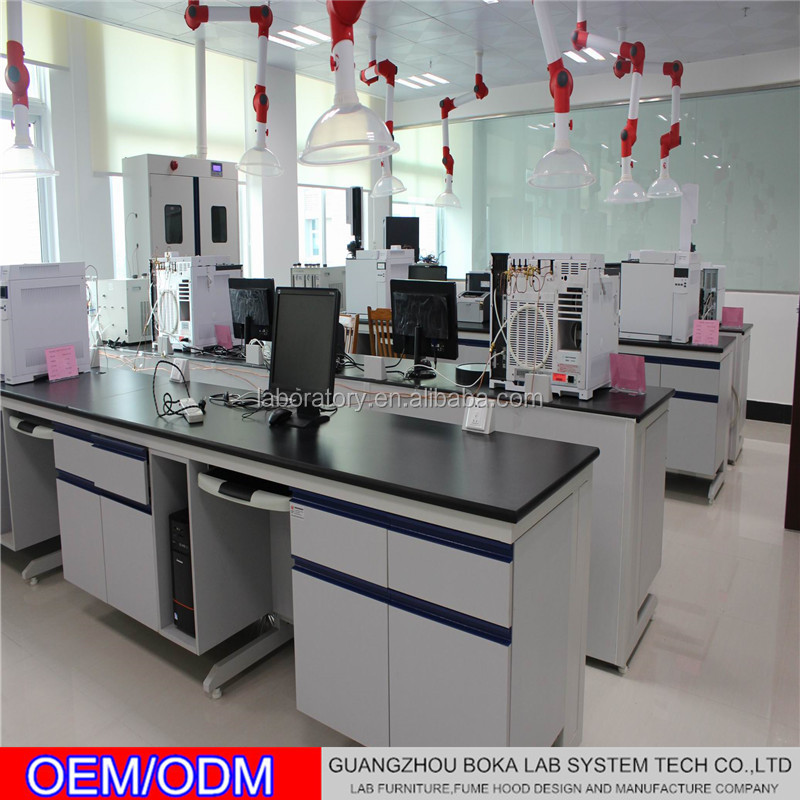 Biotechnology C frame lab tables and furnitures