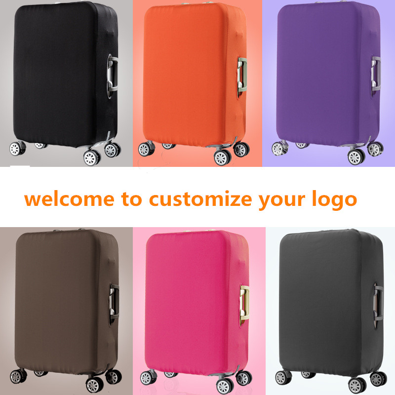 Wholesale Spandex Luggage Case Cover Organizer suitcase Luggage Protective Cover