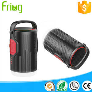 New fashionable Speaker camping lantern shockproof led camping lantern with 10400 mAh 5W Bluetooth 4.2 speaker