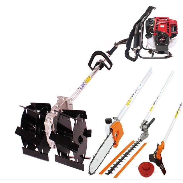 Automatic brush cutter grass weed cutting machine / farm tilling machine