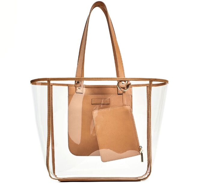 Causal Clear Transparent Plastic Handbags Tote Womens Purse Las Shoulder Bags Woman Bag Product On Alibaba