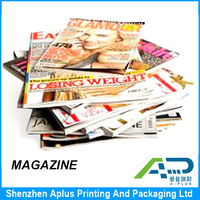 Professional Magazine and brochure and catalogue Printing