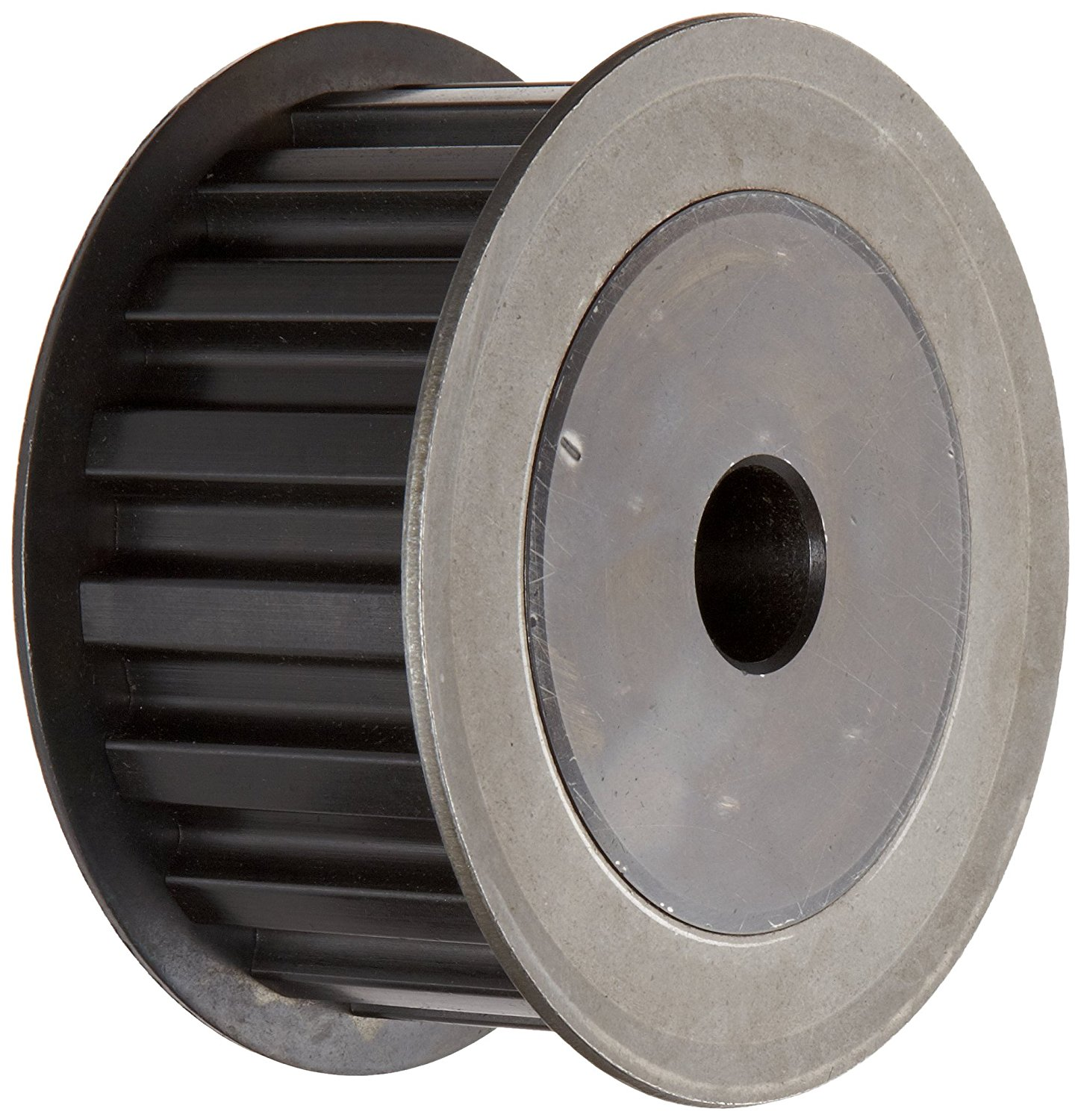 1//5 Pitch 0.955 Pitch Diameter 1//4 to 5//16 Bore Range 15 Groove Gates PB15XL037 PowerGrip Steel Timing Pulley for 1//4 and 3//8 Width Belt