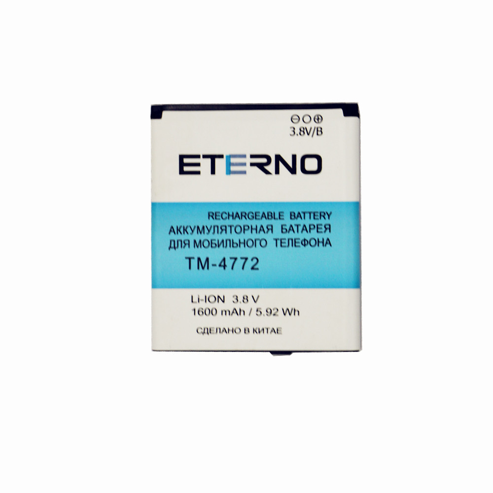 Mobile phone lithium battery for texet TM 4772 Eterno Electronic Rechargeable Battery 1600mAh inner Batteries Replacement