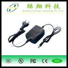European Plug ac power adapter with CE FCC RHOS