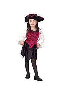 Toddler Pirate Lady Costume-Toddler (3T-4T)