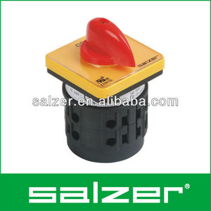 salzer ac selector switch, cam switch, rotary switch (ul file no e236199, tuv and ce approved) 12 Position Rotary Switch