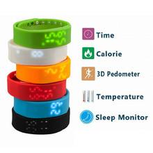 NEW! W2 Bluetooth 4.0 Fitness Activity Tracker Smart Band Wristband Pulsera Inteligente Smart Bracelet Not Flex ios for fitbit