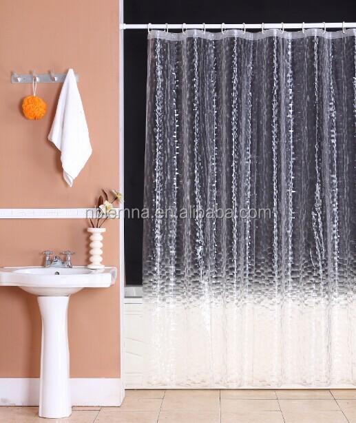 מדהים peva / עיצוב החדש eva וילון מקלחת שקוף / מוצרי בית / חדר אמבטיה IF-55
