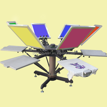 Hot Selling Wedding Card Screen Printing Machine With Low Price