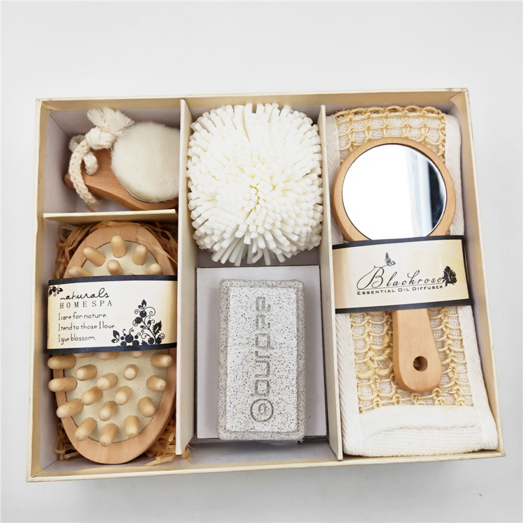 Lady huidverzorging gepersonaliseerde douchegel Bad Spa Gift Set