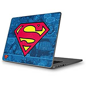 DC Comics Superman MacBook Pro 13 (2009 & 2010) Skin - Superman Logo Vinyl Decal Skin For Your MacBook Pro 13 (2009 & 2010)