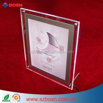 Acrylic Picture Frame, Perspex Photo Frame, Acrylic Frame Holder