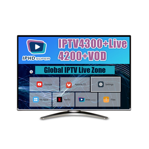 No freeze iptv subscription for USA arabic Subscription SUBTV with 6000vod encoder IPTV Server iptv channel list