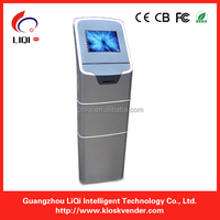 Free Standing Bill Payment Kiosk / Coin Exchange Machine