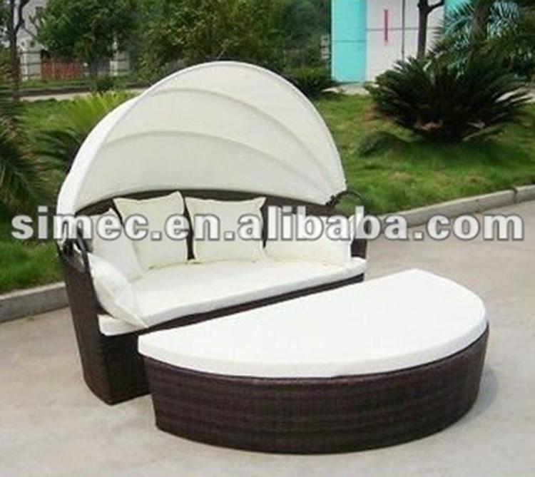 Elegant Finden Sie Hohe Qualität Im Freien Runde Liege Hersteller Und Im Freien  Runde Liege Auf Alibaba