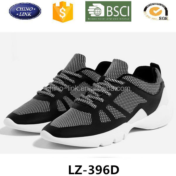 Best selling lace up flats gym women sport running shoes and sneakers good design zapatos deportivos for lady 2017