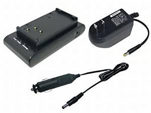 PowerSmart Battery Charger for Sharp VL-H400, VL-H400C, VL-H400S, VL-H400U, VL-HL-1, VL-HL-100U, VL-HL-3, VL-HL2 VL-HX-10U, VL-M4X, VL-M6C(GY), VL-M6U(GY), VL-M6U(SL), VL-MX7, VL-MX7C(GY), VL-MX7C(SL), VL-MX7U(GY), VL-MX7U(SL), VL-N1, VL-N1C VL-N1H, VL-N1S, VL-N1U VL-N1X, VL-S6,