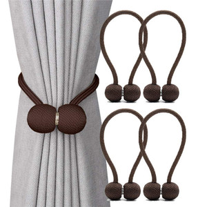 China supplier modern curtain accessory,home decoration holdback cheap magnetic curtain tiebacks